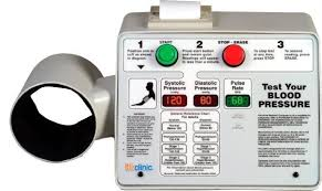 LifeClinic LC400 blood pressure kiosk