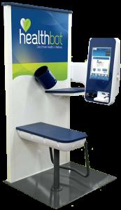 HealthBot Blood Pressure Kiosk